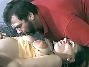Lusty pregnant slut has fun in orgy