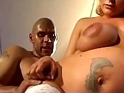 Chubby pregnant bride gets cumload